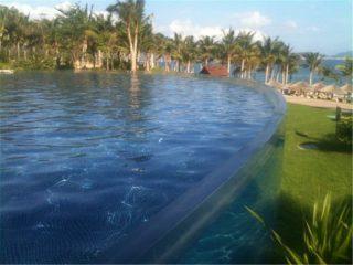 Prilagođena akrilna ploča za bazen za plivanje
