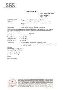 SGS Certifikat o ispitivanju EN