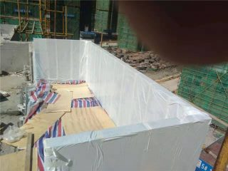 90mm prilagođeni akrilni pokrivač bazen