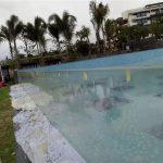 prilagođeni rezovi na otvorenom, akrilni bazeni za plivanje