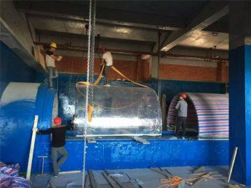 plastika akvarijum akril Akvarijum projektni tunel
